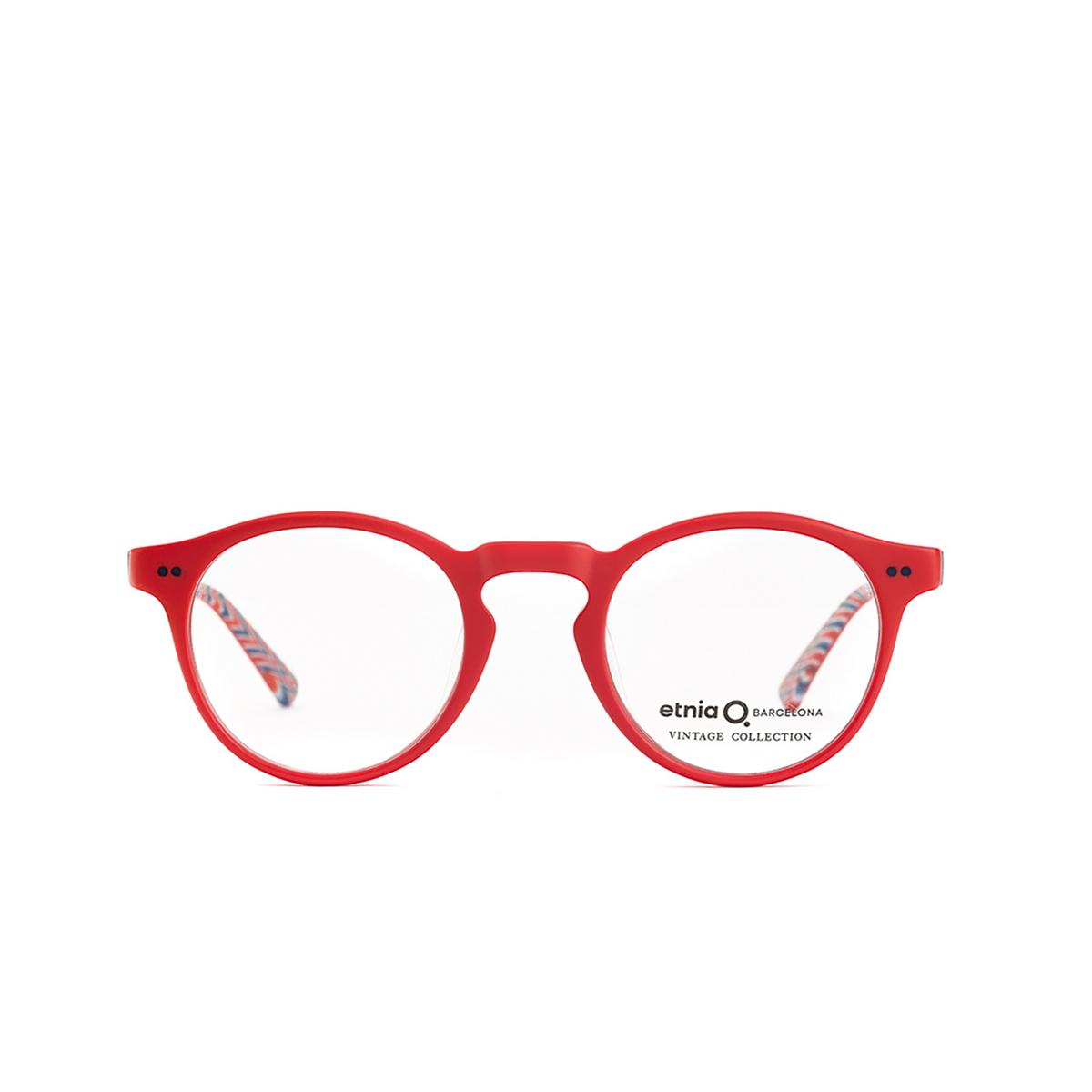 Etnia Barcelona® Round Eyeglasses: Mission District color Rdbl - front view.