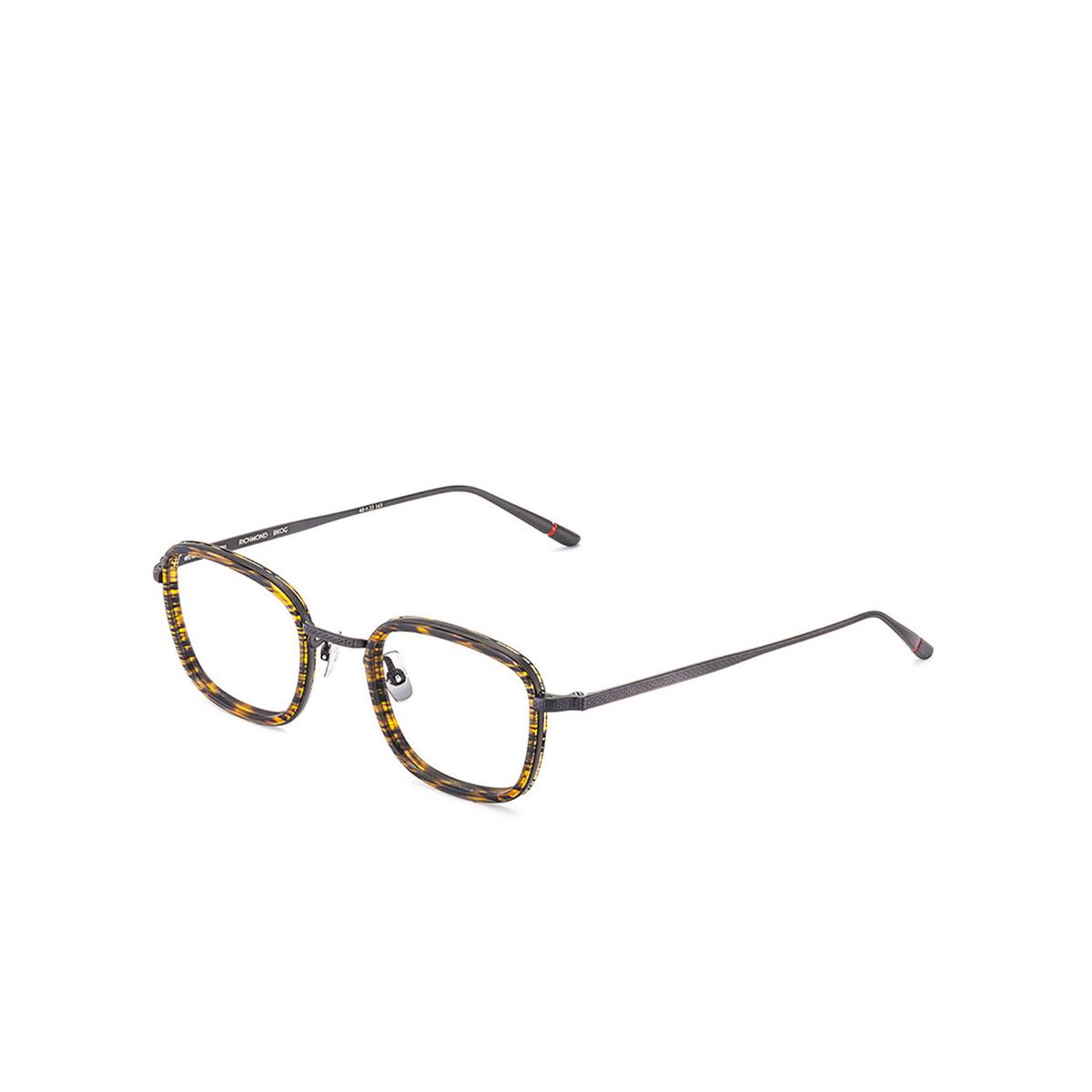 Etnia Barcelona® Square Eyeglasses: Richmond color Bkog - three-quarters view.