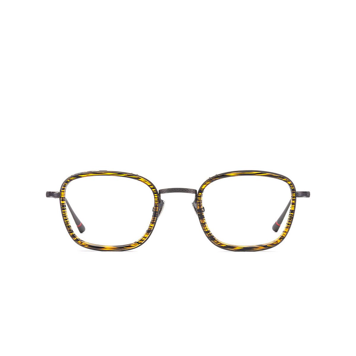 Etnia Barcelona® Square Eyeglasses: Richmond color Bkog - front view.