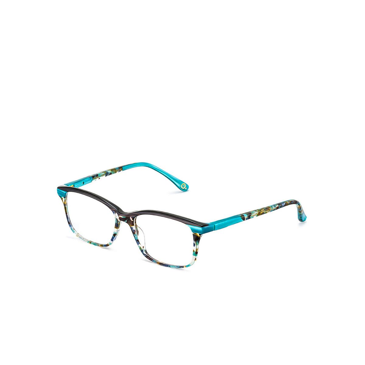 Etnia Barcelona® Square Eyeglasses: Vicenza color Tqbr - three-quarters view.