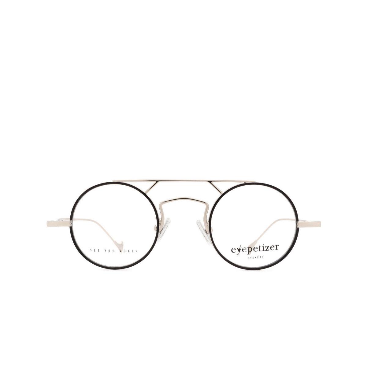 Eyepetizer® Round Eyeglasses: Adrien color Black C.1-F.