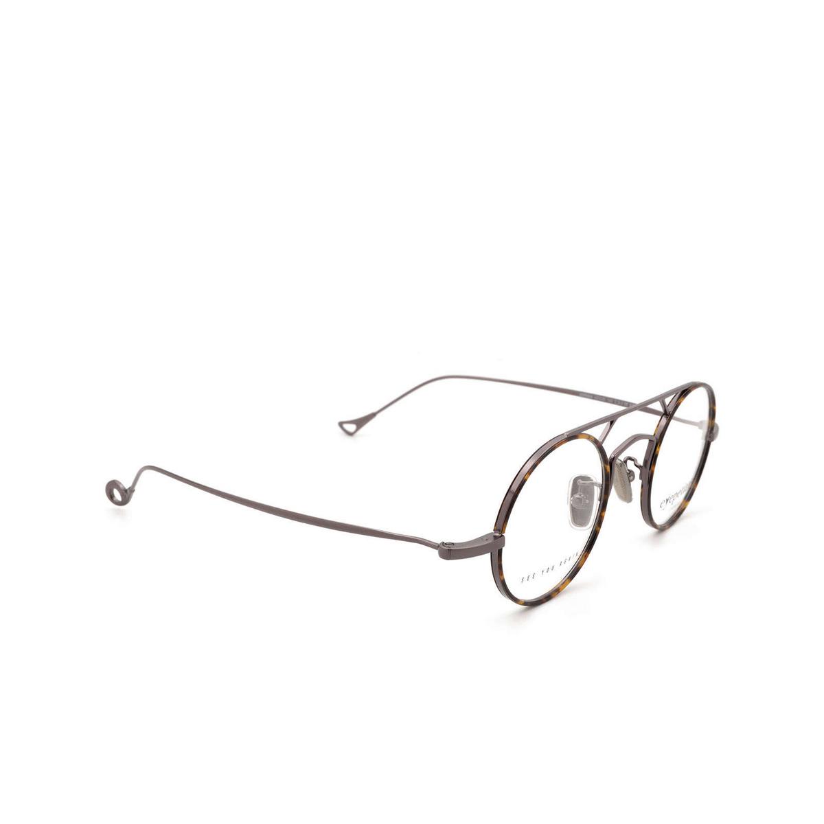 Eyepetizer® Round Eyeglasses: Adrien color Havana C.3-J.