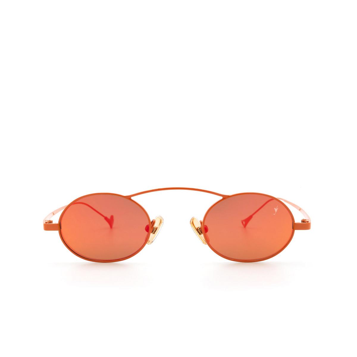 Eyepetizer® Oval Sunglasses: Birkin color Orange C.13-37.