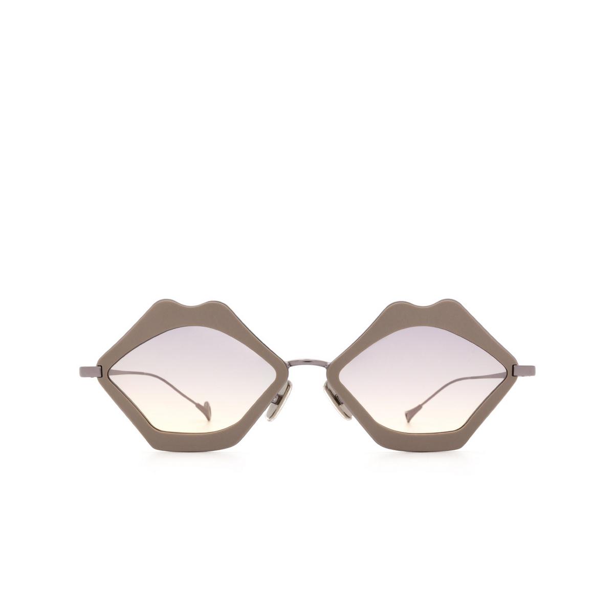 Eyepetizer® Irregular Sunglasses: Bisous color Dove C.3-N-19.