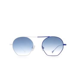 Eyepetizer® Sunglasses: Botafoch color White & Blue C.19-12F.