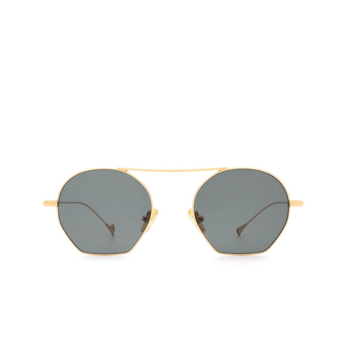 Eyepetizer® Irregular Sunglasses: Botafoch color Gold C.4-40 - front view.