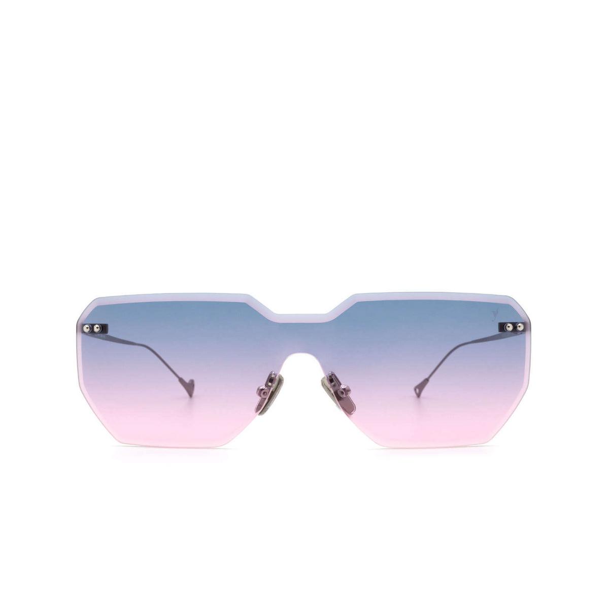 Eyepetizer® Mask Sunglasses: Brickel color Gunmetal C.3-20 - front view.