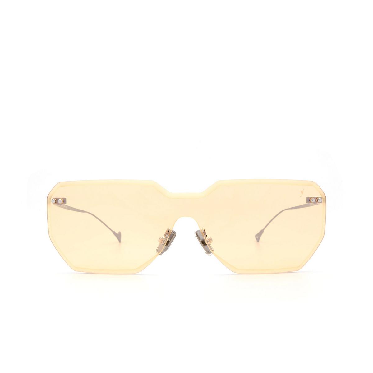 Eyepetizer® Mask Sunglasses: Brickel color Gunmetal C.3-24F - front view.
