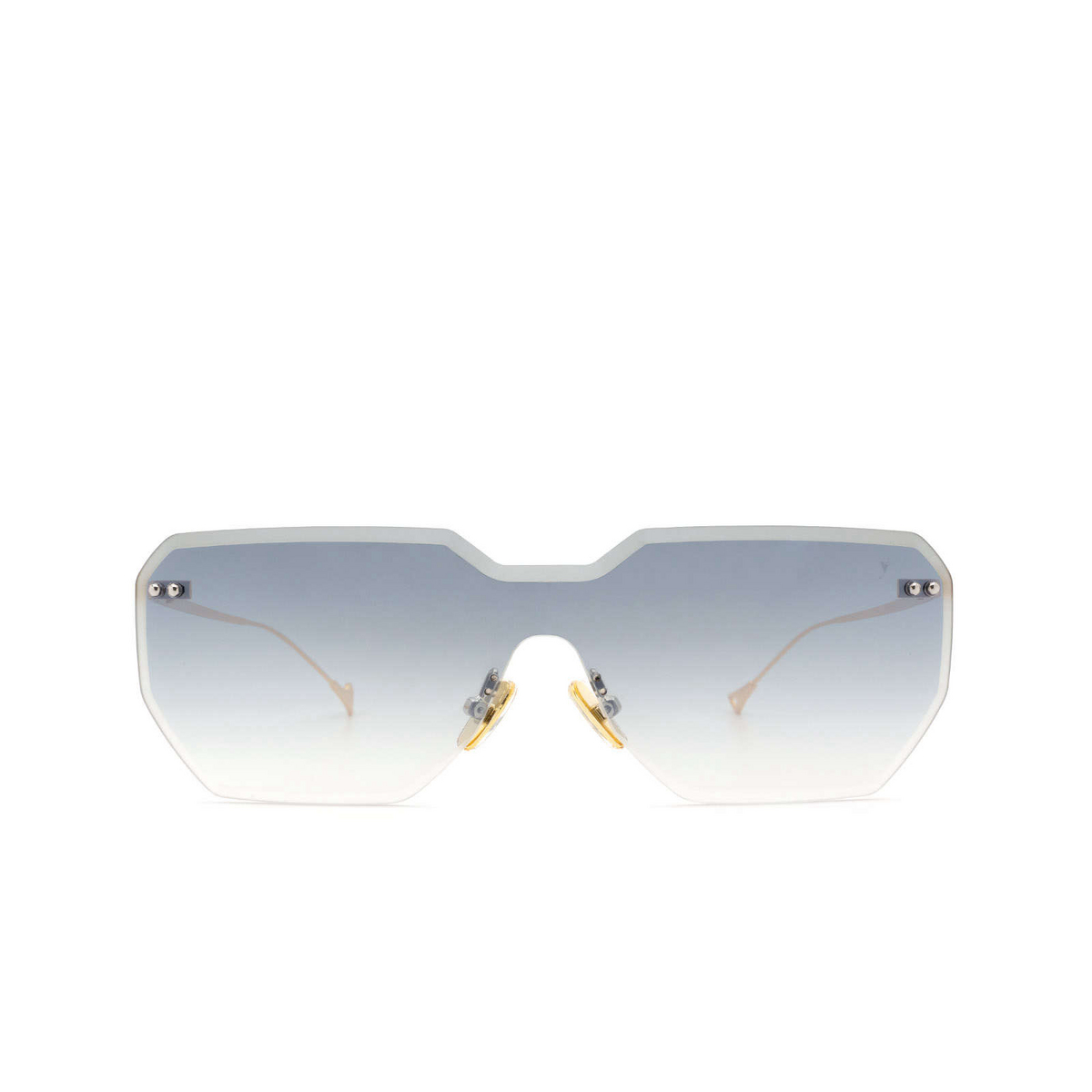 Eyepetizer® Mask Sunglasses: Brickel color Gold C.4-25F.