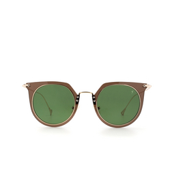 Eyepetizer® Sunglasses: Brigitte color Brown C.H-2-1.