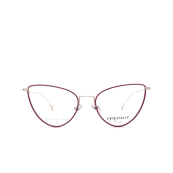 Eyepetizer® Cat-eye Eyeglasses: Cecile color Violet C.1-A.