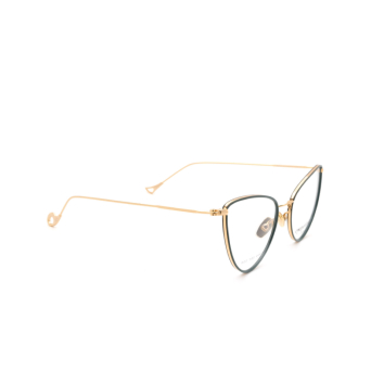 Eyepetizer® Cat-eye Eyeglasses: Cecile color Sage Green C.4-B.