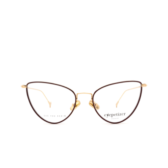 Eyepetizer® Cat-eye Eyeglasses: Cecile color Brown C.4-C.