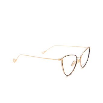 Eyepetizer® Cat-eye Eyeglasses: Cecile color Marble Green C.4-L.