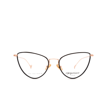 Eyepetizer® Cat-eye Eyeglasses: Cecile color Black C.9-F.