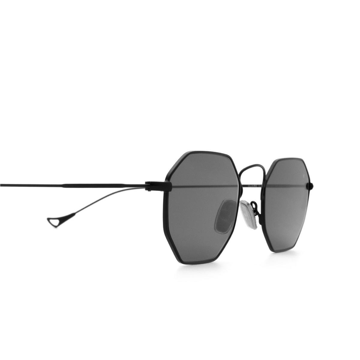 Eyepetizer® Irregular Sunglasses: Claire X Mia Burton color Black C.6-7 - 3/6.