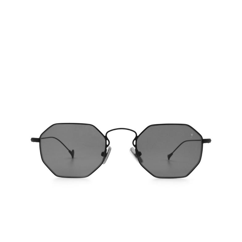 Eyepetizer® Irregular Sunglasses: Claire X Mia Burton color Black C.6-7.