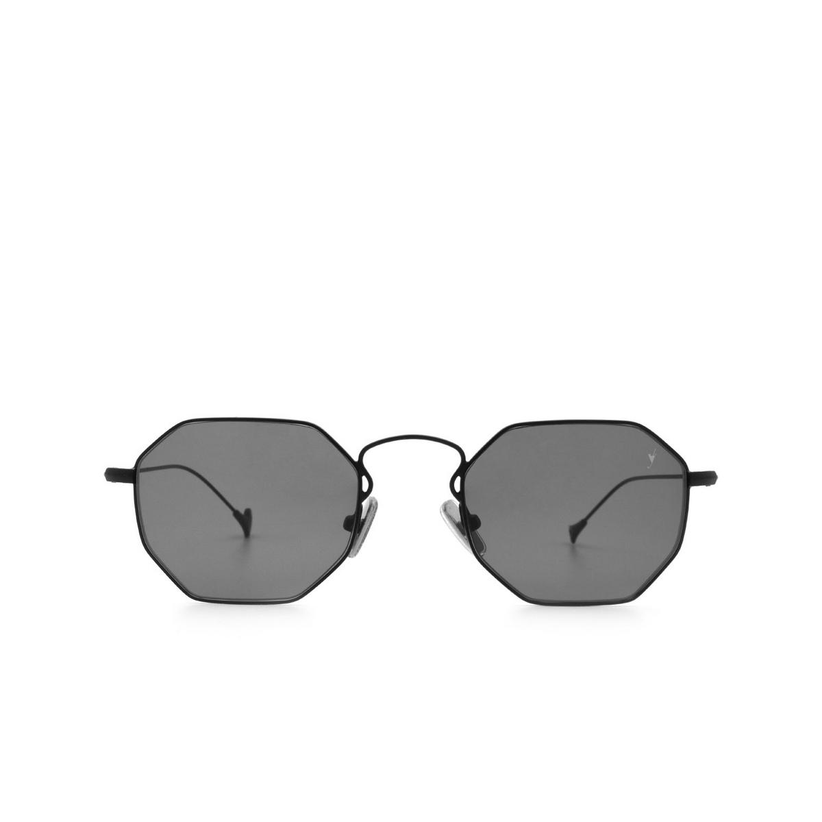 Eyepetizer® Irregular Sunglasses: Claire X Mia Burton color Black C.6-7 - 1/6.