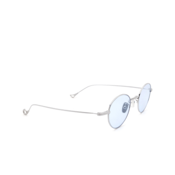 Eyepetizer® Round Sunglasses: Clint color Silver C.1-2.