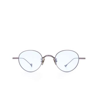 Eyepetizer® Round Sunglasses: Clint color Gunmetal C.3-2.