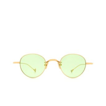Eyepetizer® Round Sunglasses: Clint color Gold C.4-1.