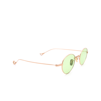 Eyepetizer® Round Sunglasses: Clint color Rose Gold C.9-1.