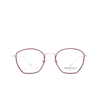 Eyepetizer® Irregular Eyeglasses: Colette color Violet C.1-A.