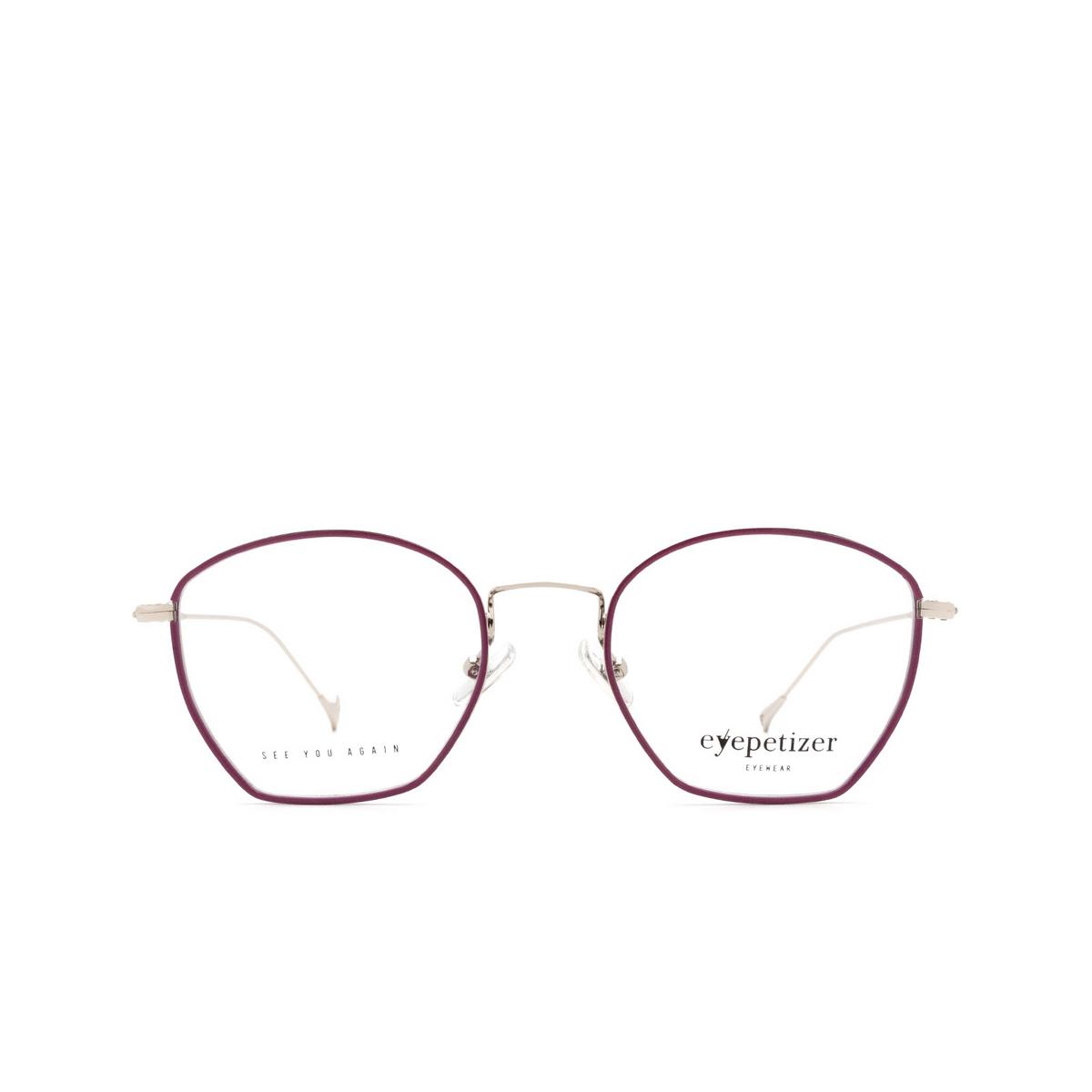 Eyepetizer® Irregular Eyeglasses: Colette color Violet C.1-A.