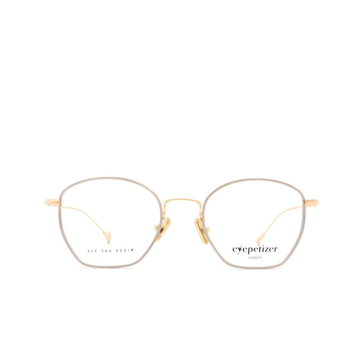 Eyepetizer® Irregular Eyeglasses: Colette color White C.4-D.