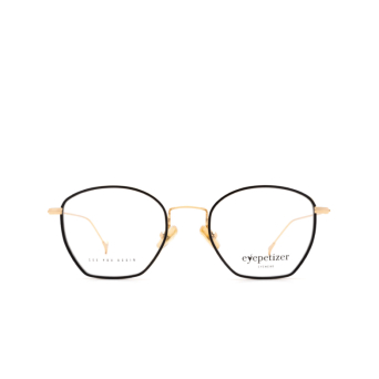 Eyepetizer® Irregular Eyeglasses: Colette color Black C.4-F.