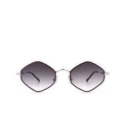 Eyepetizer® Sunglasses: Deux color Bordeaux C.1-C-P-27.