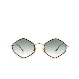 Eyepetizer® Sunglasses: Deux color Havana C.4-M-I-25F.