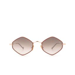 Eyepetizer® Sunglasses: Deux color Pinkish Brown C.9-E-J-18F.