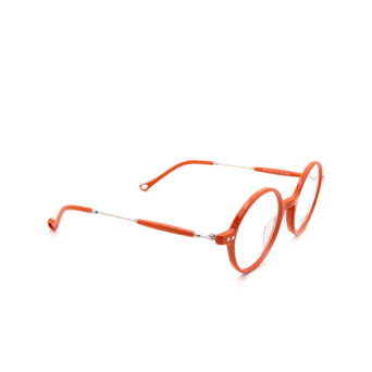 Eyepetizer® Round Eyeglasses: Dix color Orange C.1-K.
