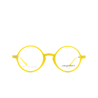 Eyepetizer® Round Eyeglasses: Dix color Yellow C.3-U.