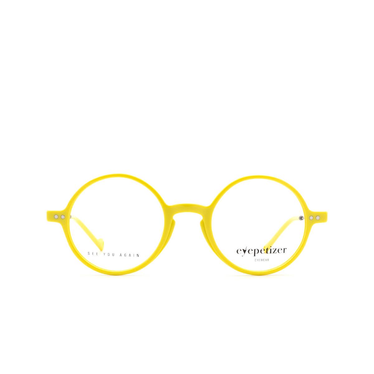 Eyepetizer® Round Eyeglasses: Dix color Yellow C.3-U.