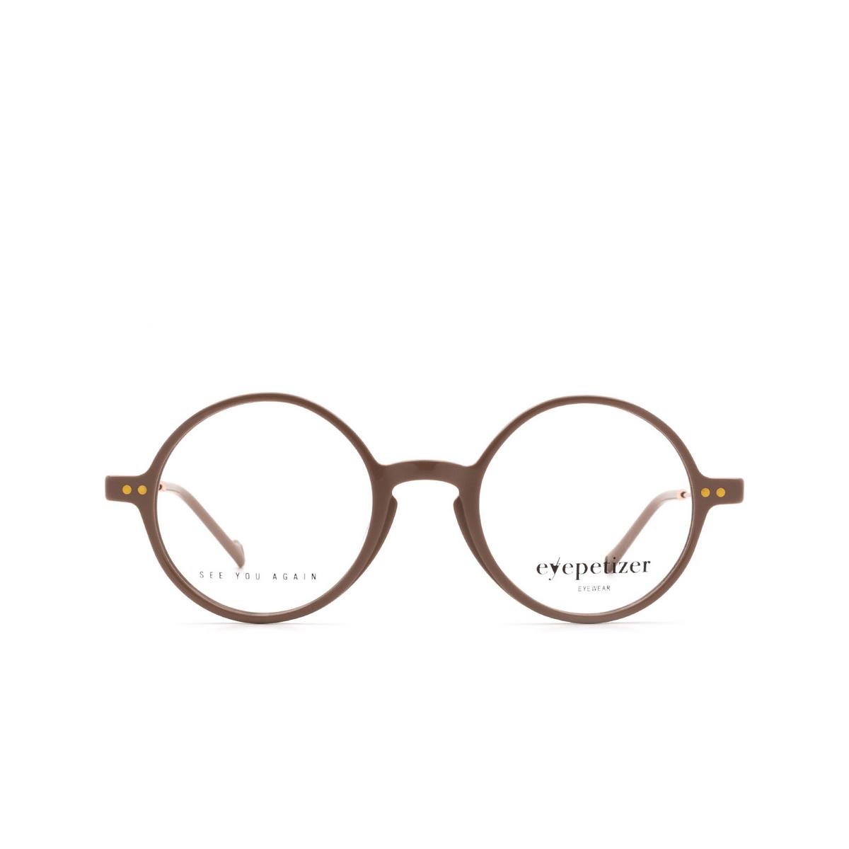Eyepetizer® Round Eyeglasses: Dix color Beige C.9-E.