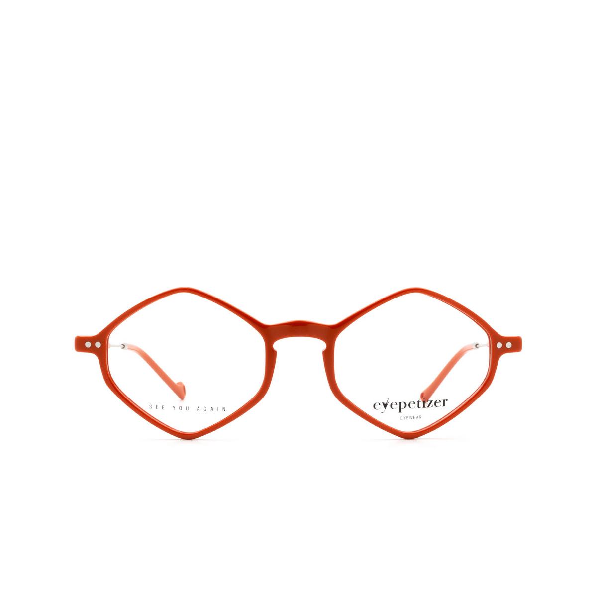 Eyepetizer® Irregular Eyeglasses: Douze color Orange C.1-K.