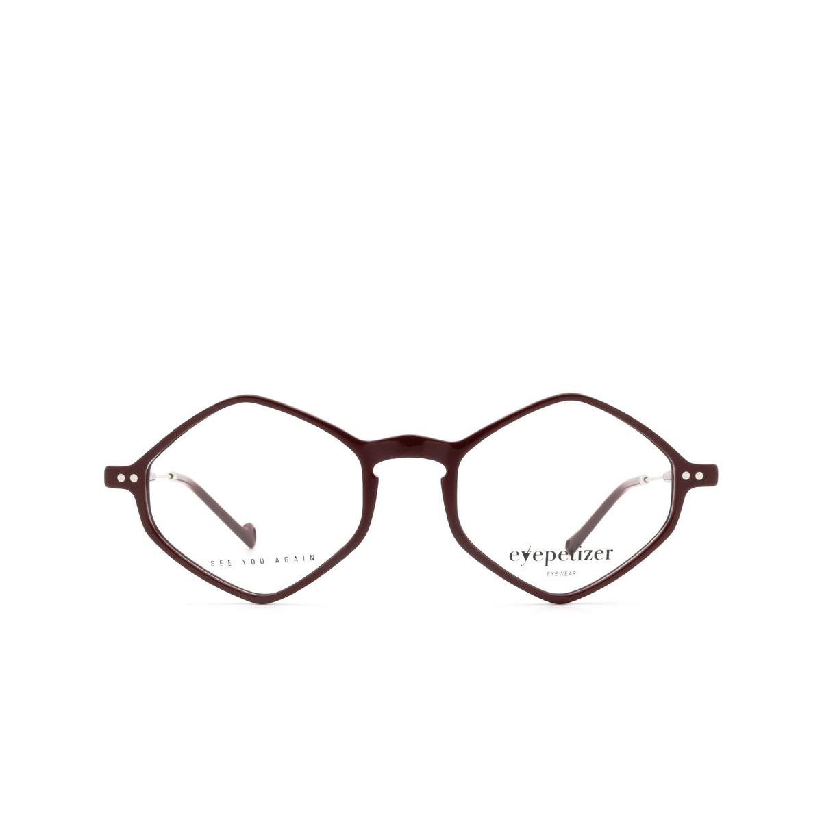 Eyepetizer® Irregular Eyeglasses: Douze color Bordeaux C.1-P.