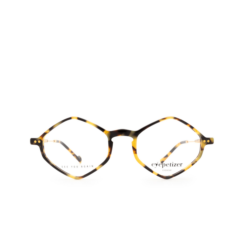 Eyepetizer® Irregular Eyeglasses: Douze color Havana C.4-F.