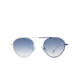 Eyepetizer® Sunglasses: En Bossa color White & Blue C.19-12F.