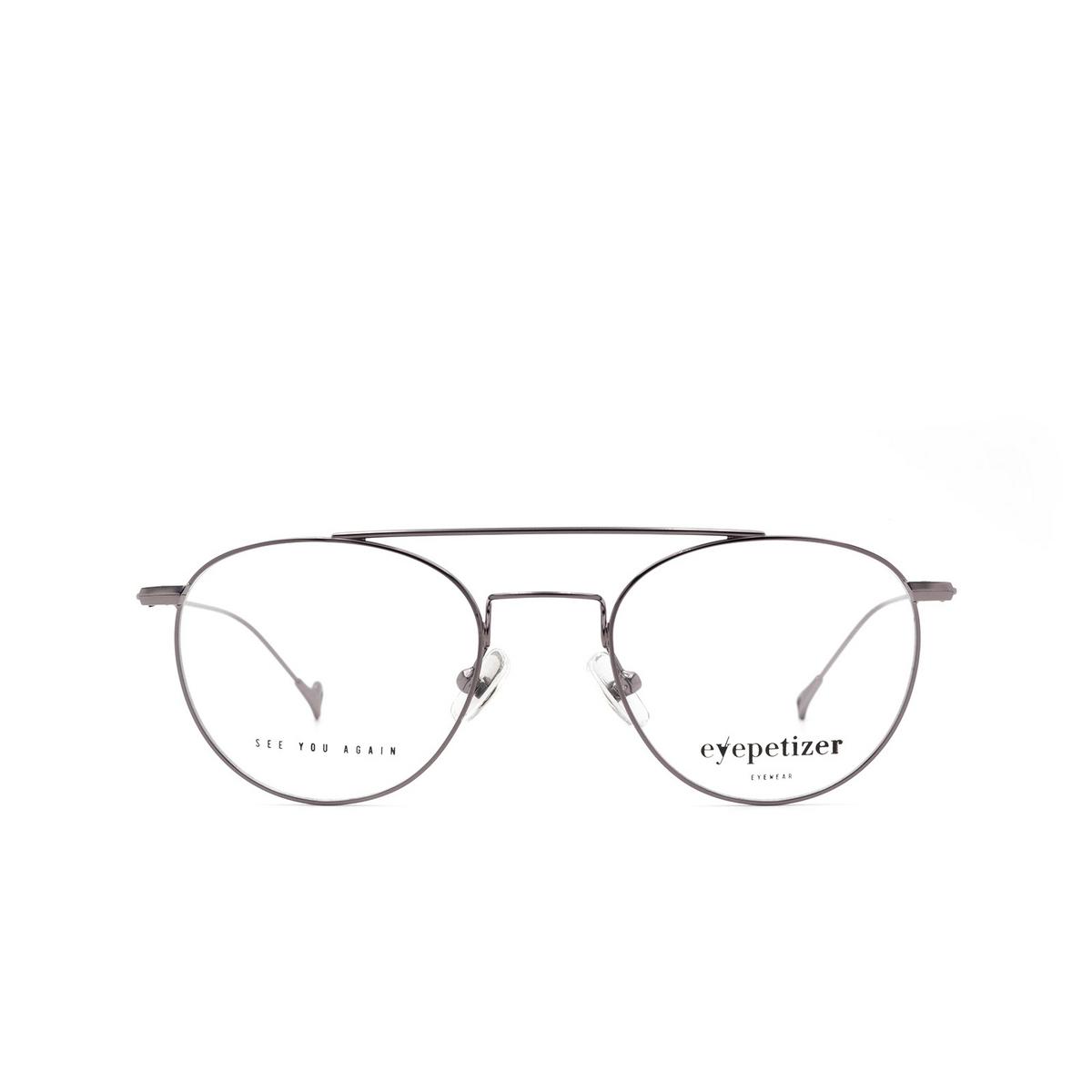 Eyepetizer® Aviator Eyeglasses: Georges color Gunmetal C 3.
