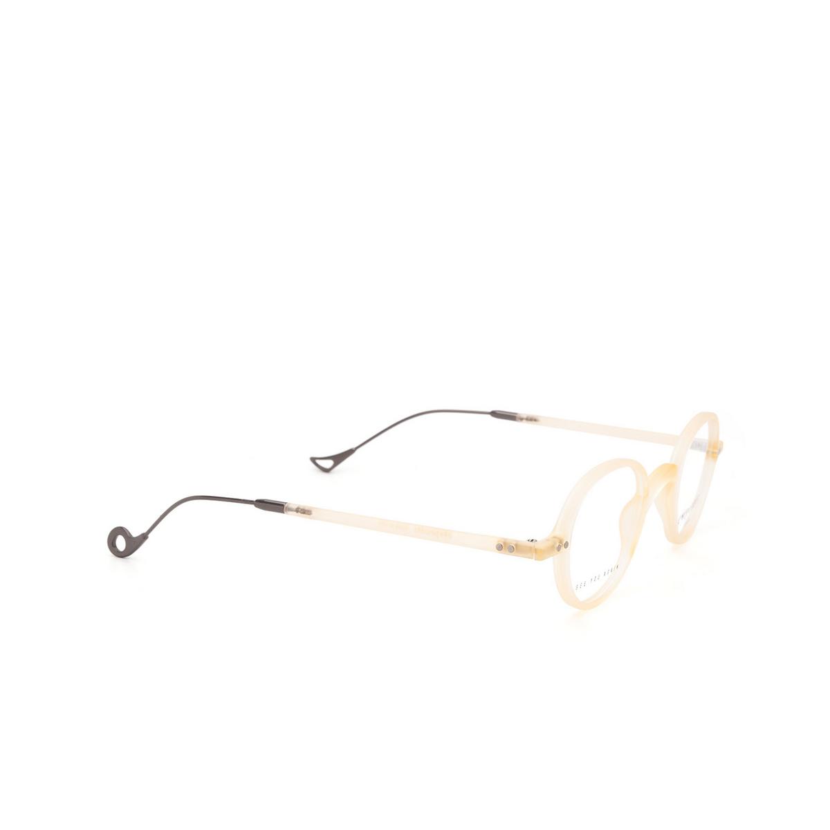 Eyepetizer® Oval Eyeglasses: Gerhard color Matte Honey C B-3 - three-quarters view.