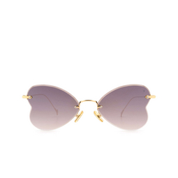 Eyepetizer® Sunglasses: Greta color Gold C.4-18F.