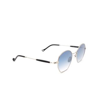 Eyepetizer® Irregular Sunglasses: Guimet color Silver C.1-A-26F.