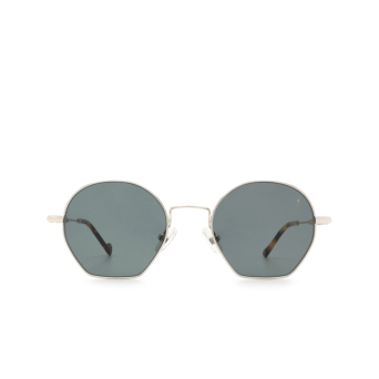 Eyepetizer® Irregular Sunglasses: Guimet color Silver C.1-F-40.