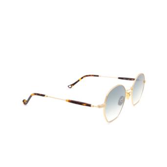 Eyepetizer® Irregular Sunglasses: Guimet color Gold C.4-I-25F.