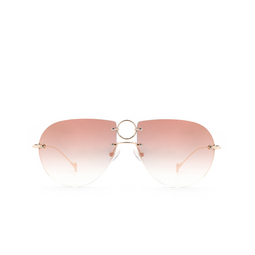 Eyepetizer® Sunglasses: Hal color Gold C.2-11C.