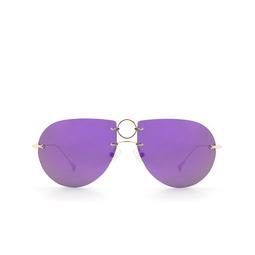 Eyepetizer® Sunglasses: Hal color Gold C.2-7B.