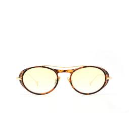 Eyepetizer® Sunglasses: Helen color Matte Havana C. G-14F.